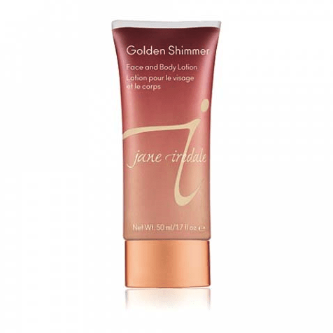GOLDEN SHIMMER FACE AND BODY LOTION Image