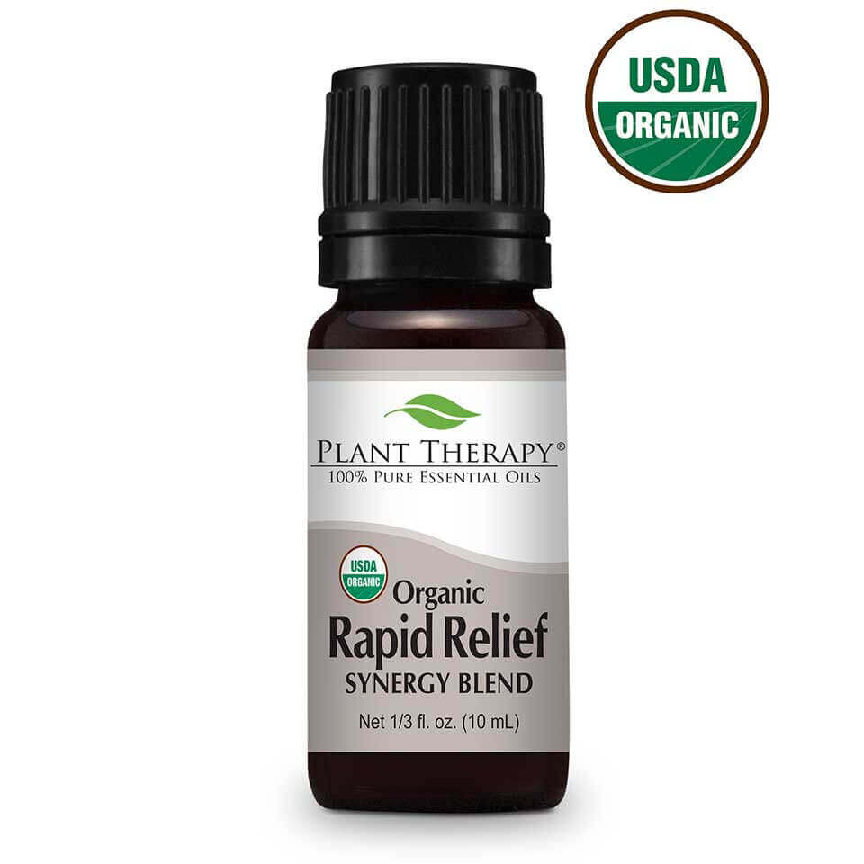 Rapid Relief Synergy Organic Essential Oil Image