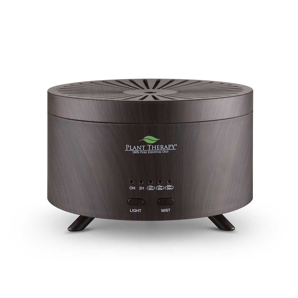 AromaFuse Diffuser - Wood Grain Brown Image